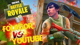 VICTORIA en el NUEVO Torneo de Youtubers! FORTNITE Battle Royale