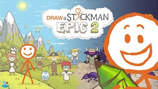 Draw A Stickman Epic 2 - Chapter 1 A Sticky Situation Walkthrough
