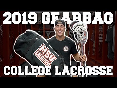 WHAT'S IN MY GEARBAG? (COLLEGE LACROSSE)