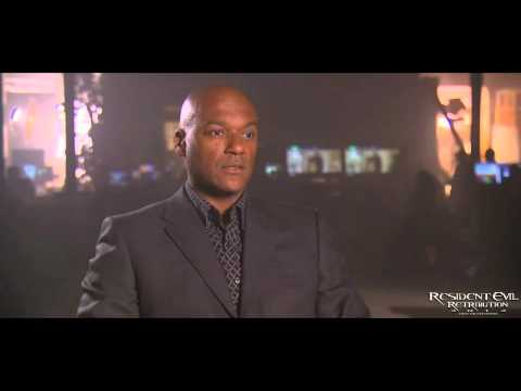 Resident Evil Retribution Interview with Colin Salmon (One)