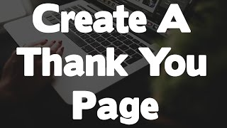 How To Create A Thank You Landing Page For The $100 Per Day Online Method(You can find the page creator I'm using here https://www.onlinedimes.com/igloo Now it;s time to create the thank you page that you will use to offer your ..., 2016-12-19T17:00:03.000Z)