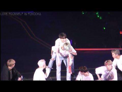 190217 BTS 방탄소년단 Anpanman V 뷔 Focus (4K) @ LOVE YOURSELF IN FUKUOKA