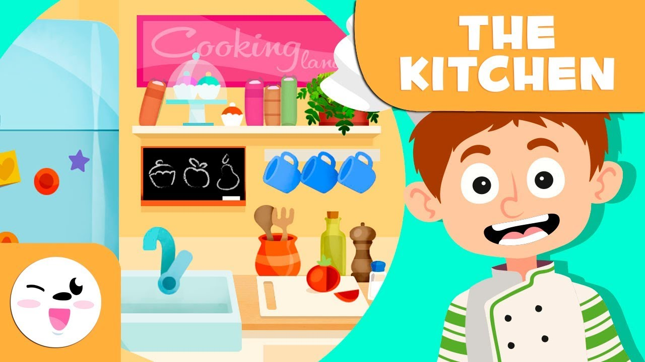 Download Learning the kitchen - Vocabulary for kids