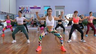 Самые быстрые упражнения для похудения для красивого тела | Аэробная танцевальная тренировка 2021