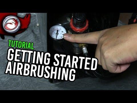 Getting Started Using an Airbrush (Airbrushing Intermediate Part 1)