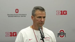 Urban Meyer: Wednesday press conference before Michigan State