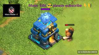 Max Town Hall 12 vs All Troops - Clash of Clans | MAX giga Tesla vs All T