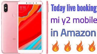 Today live booking mi y2 mobile in Amazon cash on delivery🔥