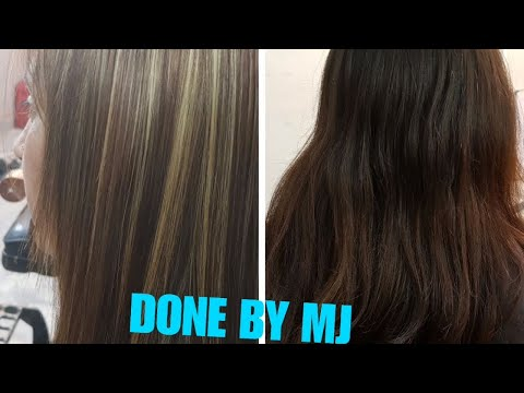 HOW TO HIGHLIGHT YOUR HAIR (MJ)