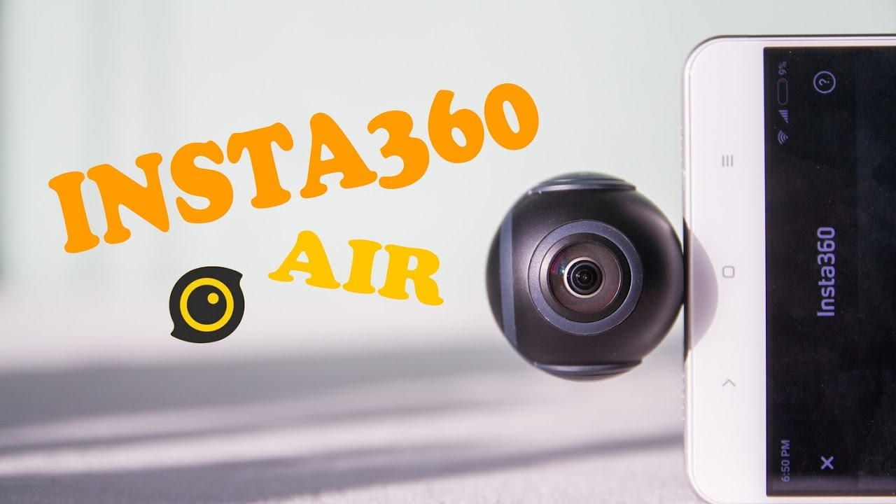 Insta360 Air CAMERA REVIEW: BEST 360-CAMERA IN 100$ PRICE RANGE