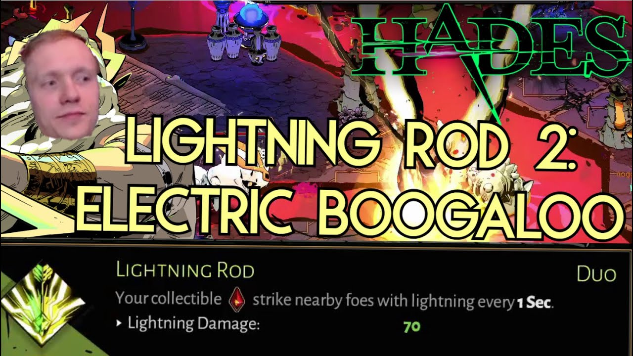 Lightning Rod actually OVERPOWERED? Trying out yet another Lightning Rod build! | Hades