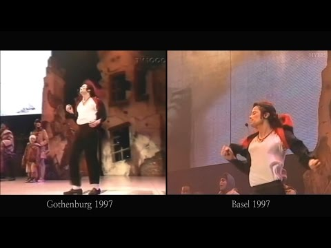 Michael Jackson - Earth Song (Gothenburg VS Basel) 1997