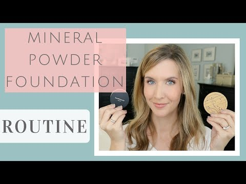 How to Apply Mineral Powder Foundation