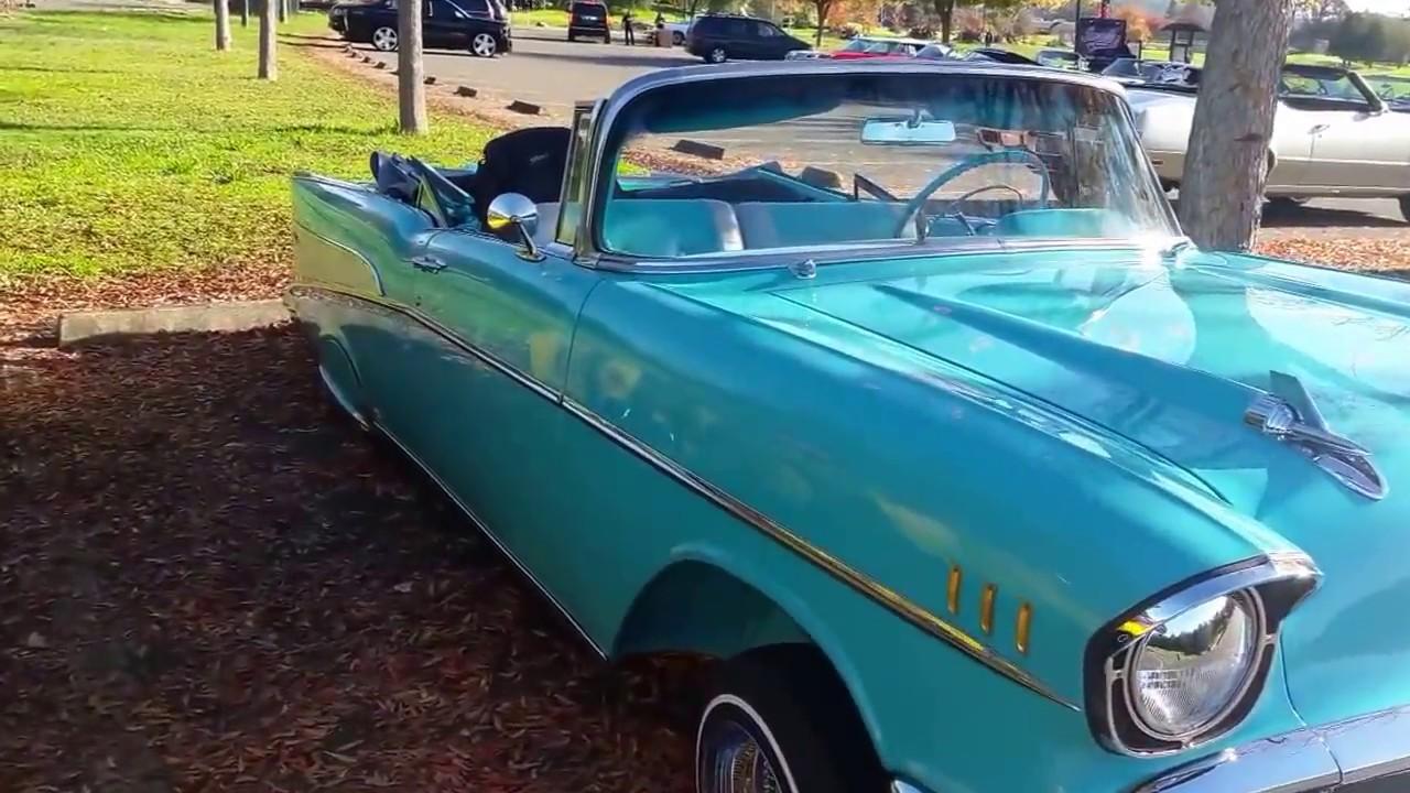 1957 Chevy Ragtop Lowrider Youtube Impala