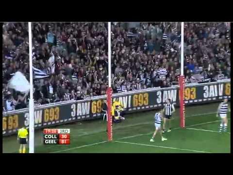 AFL 2011 Round 24 Highlights: Collingwood V Geelong
