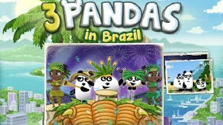 3 Pandas in Brazil Full Walkthrough