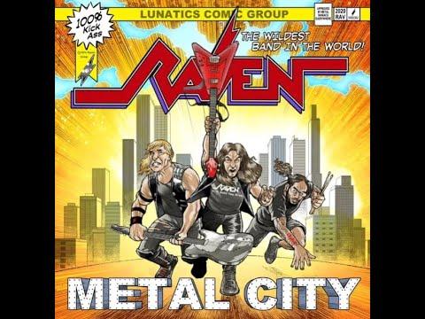 "new RAVEN album ""Metal City"" .. artwork unveiled ..!"