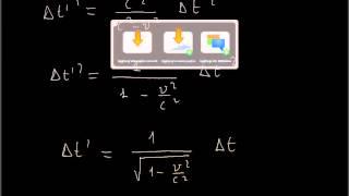 FISICA: Relatività ristretta: dilatazione dei tempi e contrazione delle lunghezze, parte 1