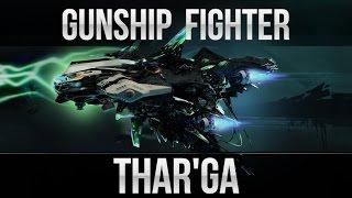 Star Conflict Lesson: New Gunship Fighter Thar'Ga