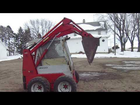 Gehl 4600 Skid Steer YouTube