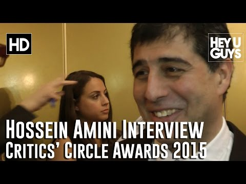 Director Hossein Amini   The Critics' Circle Awards 2015