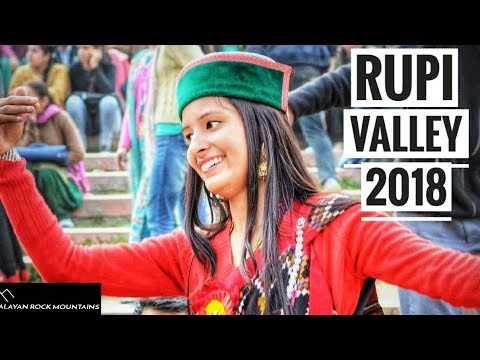 RUPI Valley function 2018 / HD 1080p / high quality / Himalayan rock mountains /