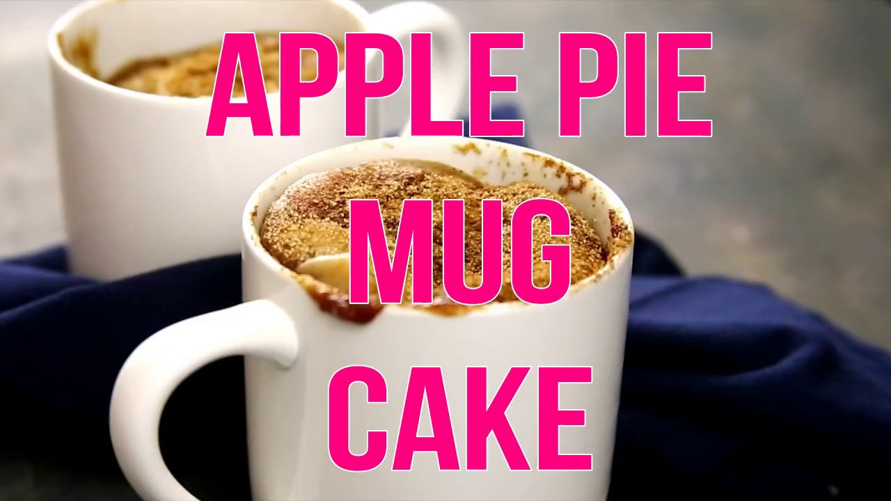 Apple Cinnamon Cake In A Mug