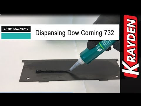 Dow Corning 732 Silicone Sealant Manually Dispensed