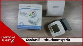 Sanitas Blutdruckmessgerät - Unboxing
