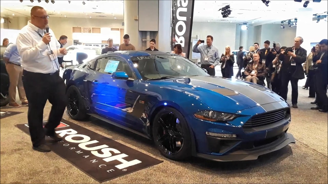 Roush jackhammer introduction at the 2018 new york international auto show short