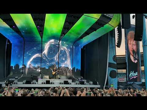 Ed Sheeran - Thinking Out Loud (Live Ullevi 2018-07-10)