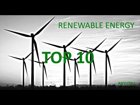 TOP 10 countries with most renewable energy