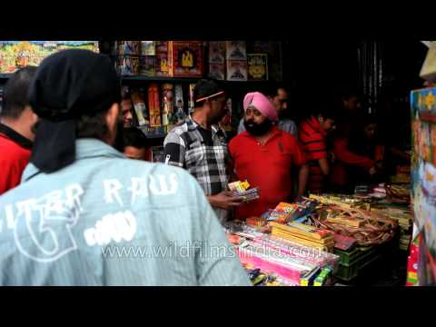 Firecracker sale for Diwali: INA market