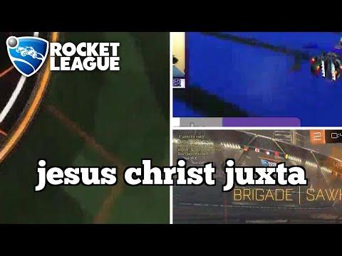 Sick Rocket League Moments: jesus christ juxta thumbnail