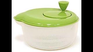 Как обсушить листья салата и зелень в сушилке-центрифуге / Илья Лазерсон / Мировой повар