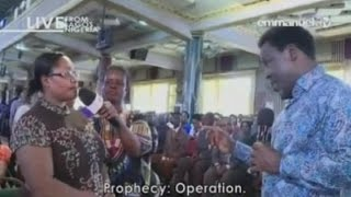 SCOAN 20/03/16: Prophecy Time & Deliverance with TB Joshua. Emmanuel TV