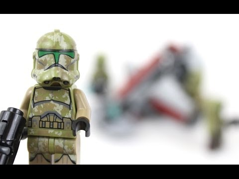 LEGO Star Wars Kashyyyk Troopers Battle Pack Review 75035