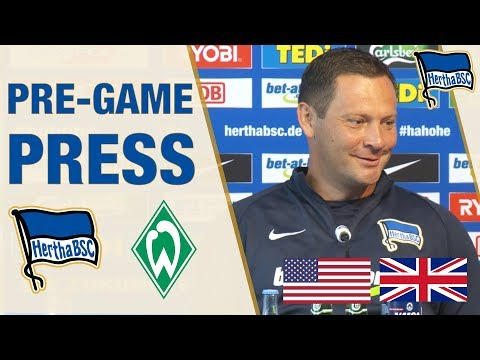 PRESS CONFERENCE HIGHLIGHTS - English - Hertha BSC - Berlin - 2018 #hahohe