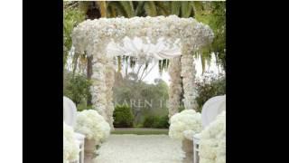 Ideas de decoración de la boda al aire libre