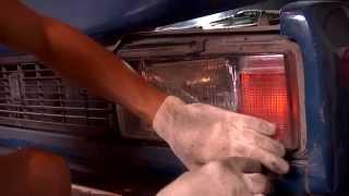 Замена блок-фар на ВАЗ 2105