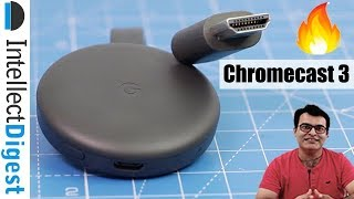 Google Chromecast 3 Unboxing And Review #TeamID #StreamOn #Chromecast3