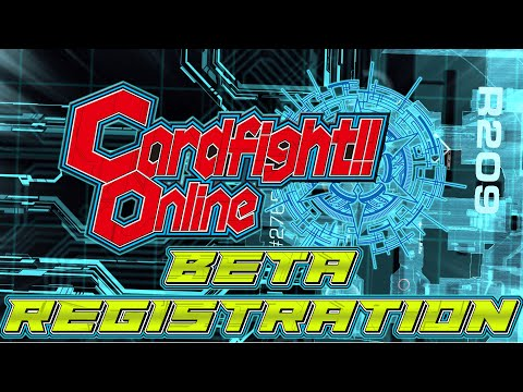 Cardfight!! Online: How to Register for the Beta