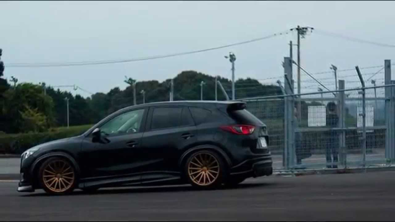 Заниженная Mazda Cx 5 на дисках Vossen Vfs2 Youtube