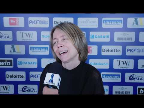 Round 3 Gibraltar Chess post-game interview with Pia Cramling