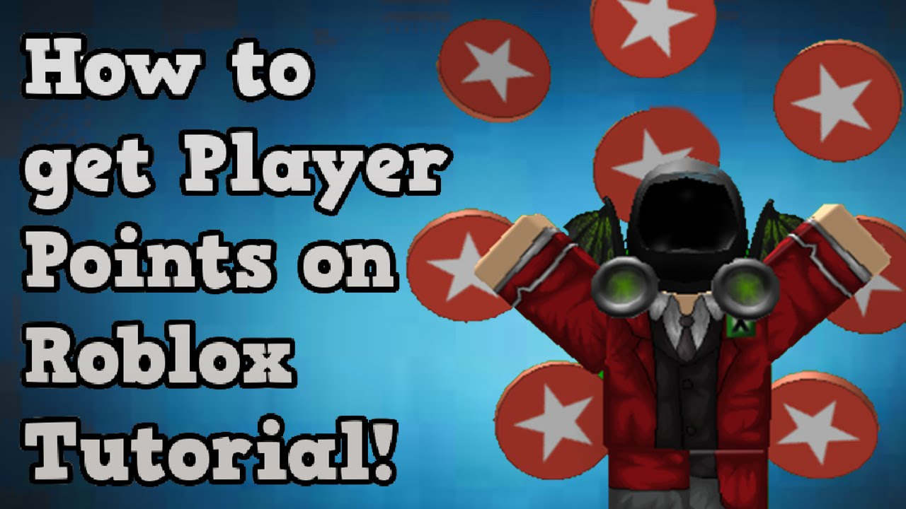 How To Get Player Points On Roblox Useless Now Youtube