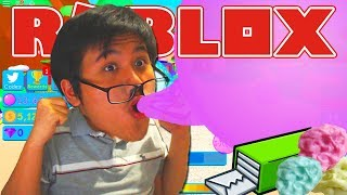The LARGEST BUBBLE GUM BUBBLE on ROBLOX?! Roblox-Indonesia Bubble Gum Tycoon