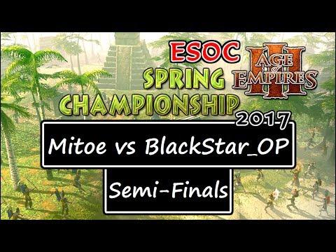 [AoE3] ESOC Spring Tournament — SEMI-FINALS: Mitoe vs BlackStar_OP