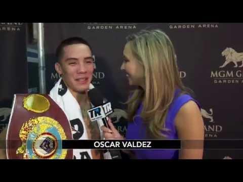 Oscar Valdez Post Fight Interview | Crawford-Postol
