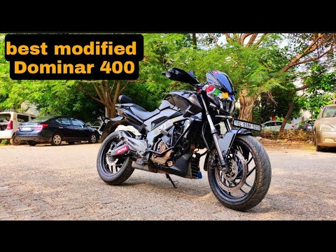 after so long time video aayi hai | bajaj dominar 400 | modified |