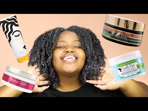 DEEP CONDITIONER BATTLE | Moisturizing Deep Conditioners For DRY Natural Hair